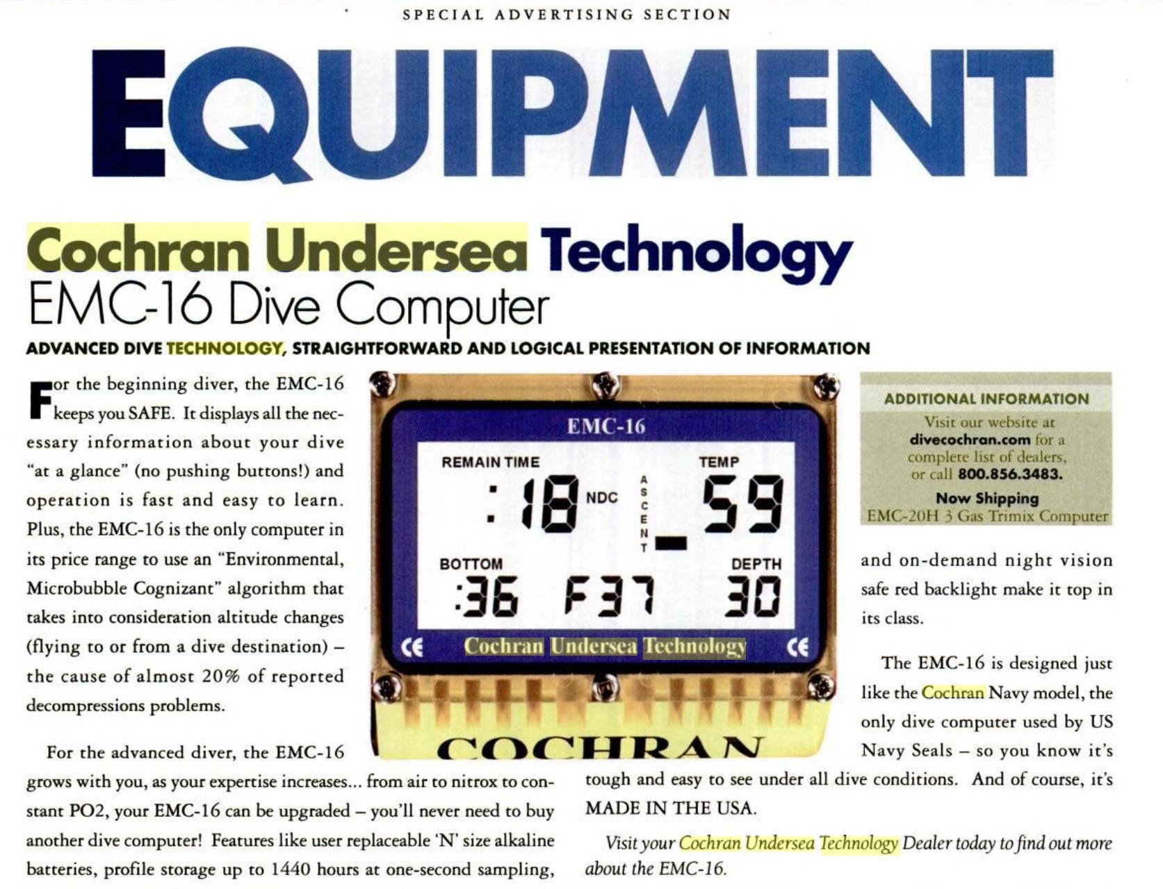 Sport Diver - Jun 2005 - Page 110
